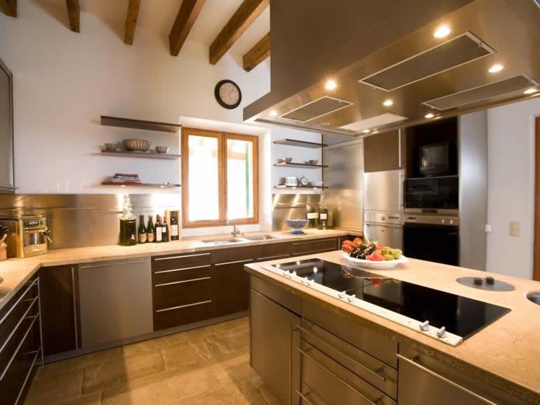 Kitchen Villa Mallorca
