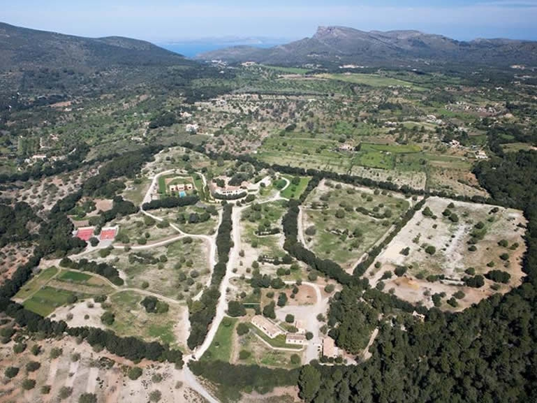 Aereal Villa Mallorca