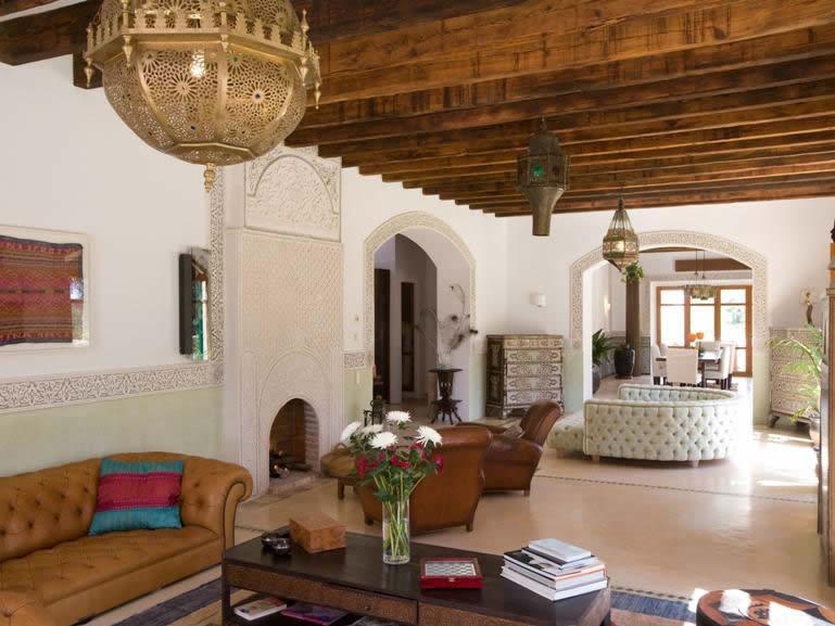 Interior of Villa Becker