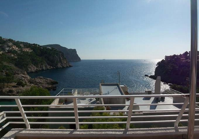 Amazing sea views offered by this penthouse in Puerto Andratx