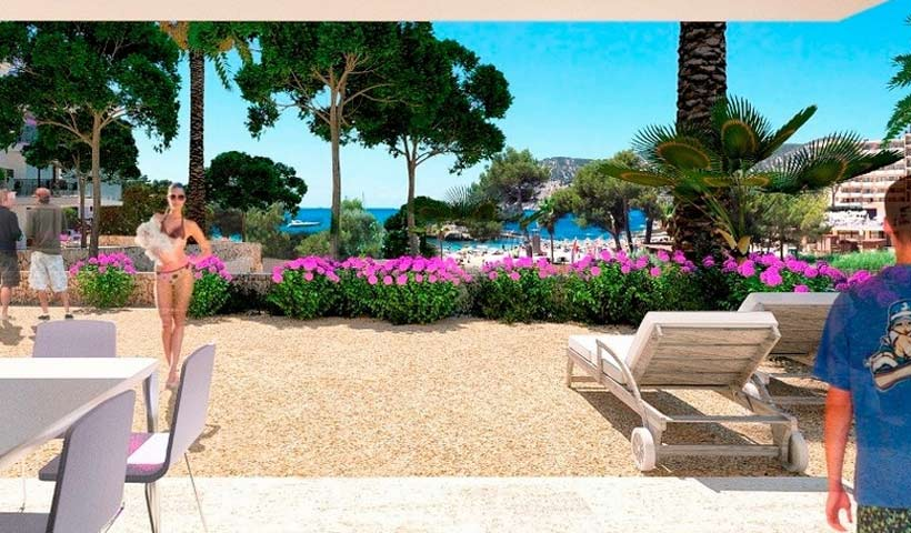 Apartments and penthouses in Camp de Mar