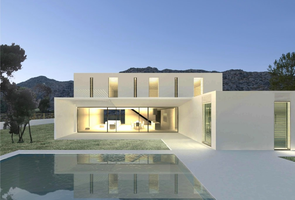 Contemporary luxury villa for sale