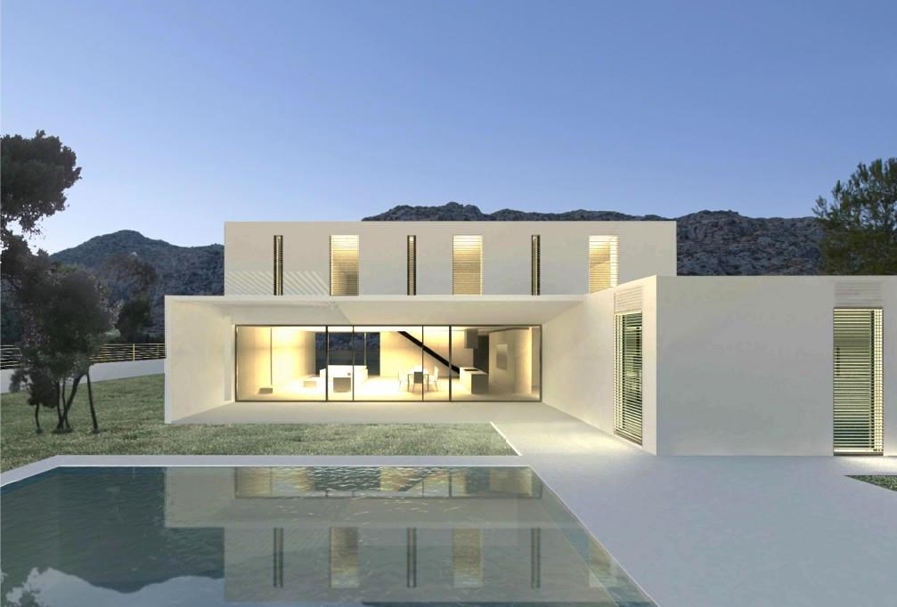 Contemporary luxury villa for sale