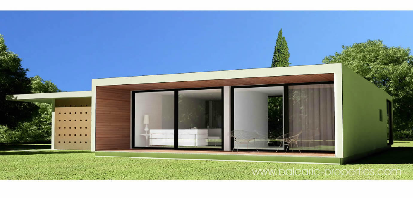 Concrete modular villas in mallorca a new concept for modern architecture property for sale Modern house plans for sale