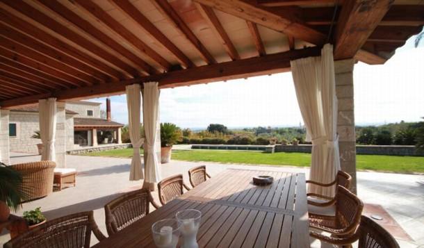 Herrliches Landhaus kaufen in Binissalem mit wunderschönem Panoramablick