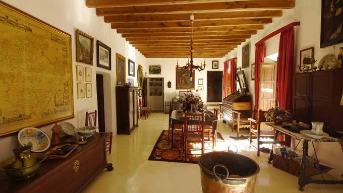In historischem Ambiente speisen in dieser Finca zu kaufen auf Mallorca
