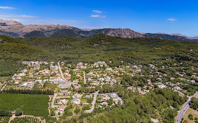 distribution of villas Subach