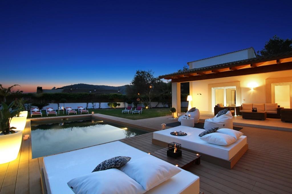 Luxury villa built in Mallorca