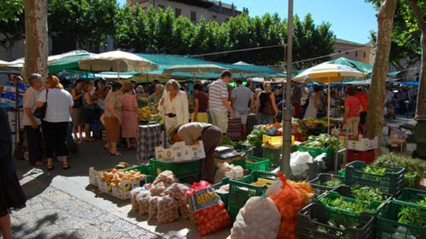 Market sunday Pollensa