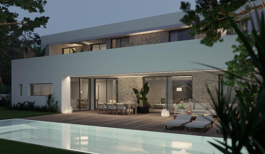 Modern luxury villa for sale in Subach