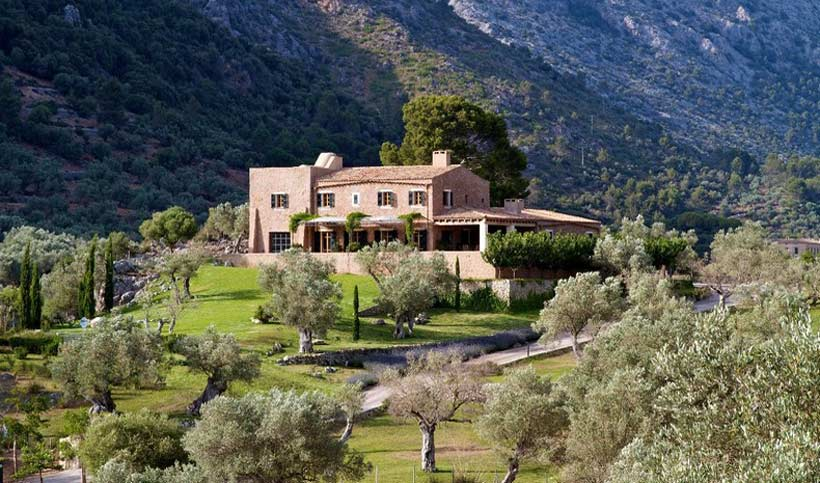 A newly built, Mallorcan villa