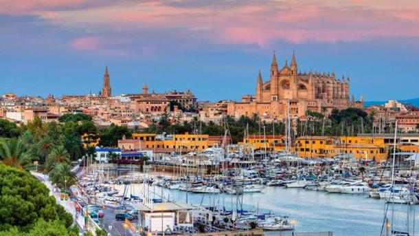 Palma old town Mallorca