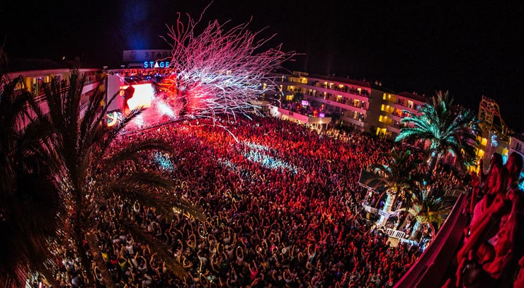 Party time in Mallorca