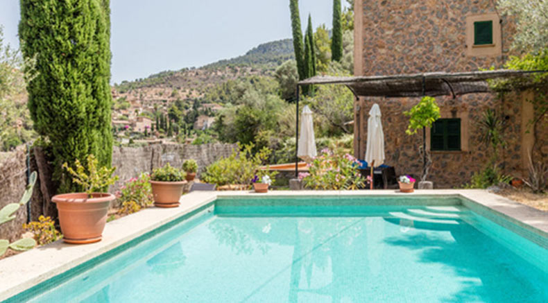 Private pool house Majorca