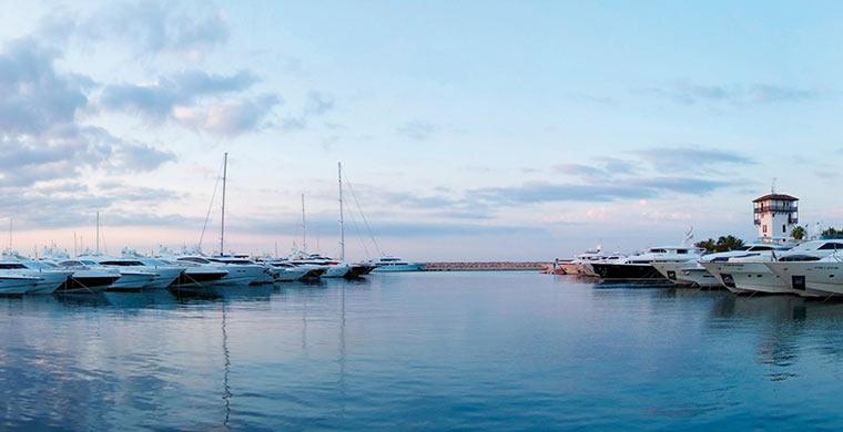 Puerto Portals in Mallorca