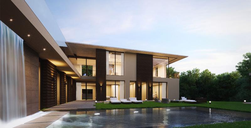 Santa Ponsa White modern villa