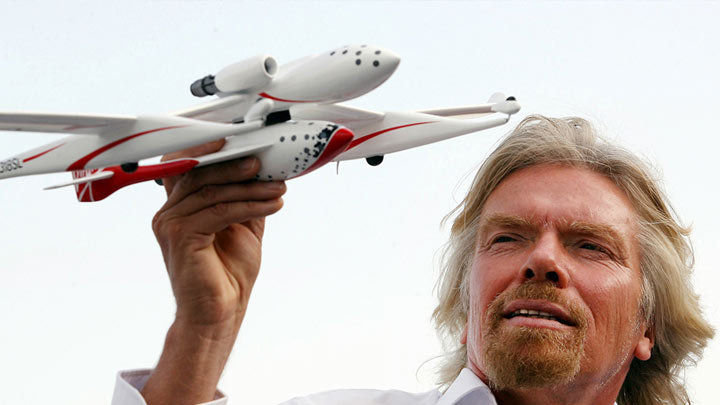 Sir Richard Branson Majorca