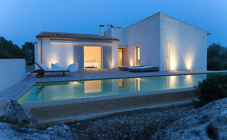 Herrliche, zeitgenössische Villa kaufen in Pollensa