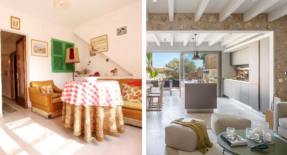 townhouse renovation in Pollensa