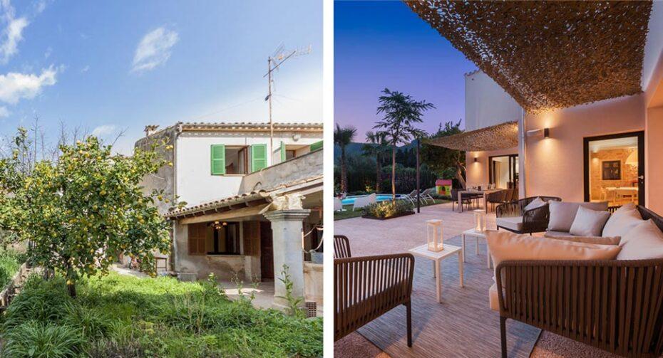 Renovated villa in Pollensa