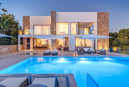 Modern Villas in Mallorca