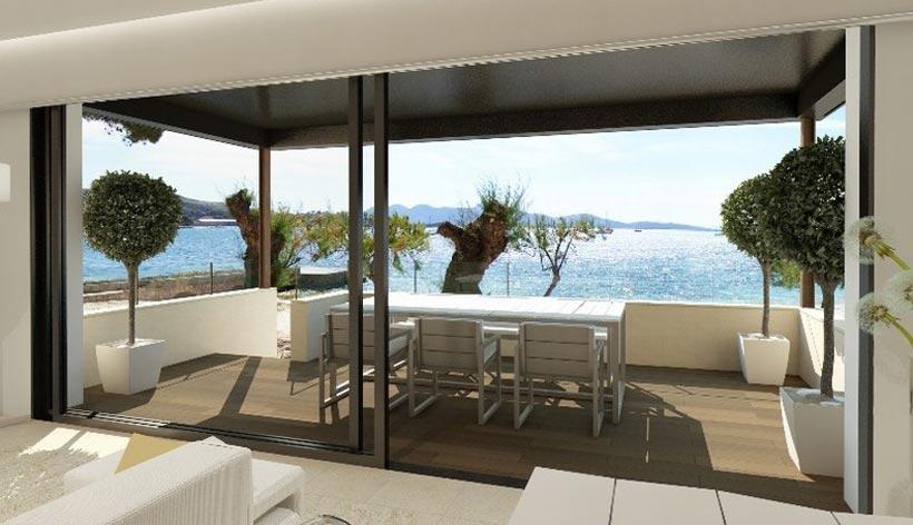 Ultra stylish ground floor  apartment in Puerto Pollensa