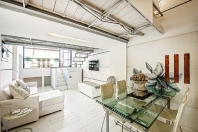 Modern refurbished apartment in loft-style for sale with private terrace, Mallorca