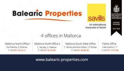 Balearic and Savills logo