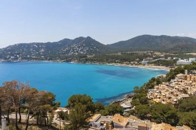 Impressive plot with sea views for sale in Canyamel, Mallorca