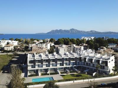 Apartments for sale near the beach in Puerto Pollensa, Mallorca