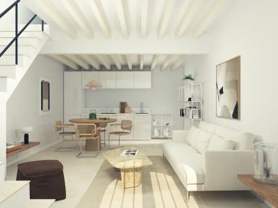 Renovated townhouse for sale in central Pollensa, Mallorca