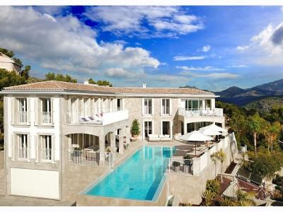 Magnificent hilltop villa with awesome sea views for sale in Puerto Andratx, Mallorca