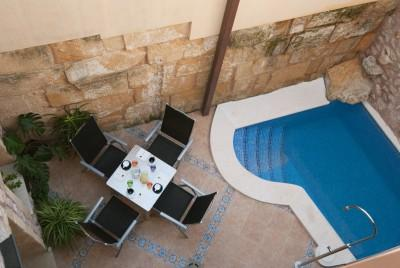 Totally renovated town house with pool for sale in Pollensa, Mallorca
