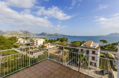 Superb 3 bedroom apartment near beach in Puerto Pollensa, Mallorca