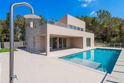Contemporary newly built villa close to the beach in Bon Aire, Mallorca