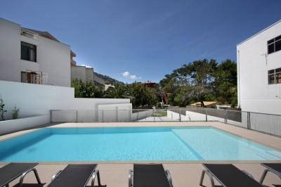 Ground floor apartment just steps from the beach in Cala San Vicente, Mallorca