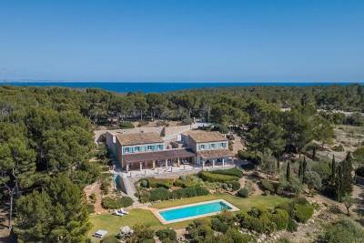 An impressive and traditional stone country home for sale in Sol de Mallorca, Mallorca