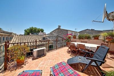 Quintessential Mallorcan town house for sale just 5 minutes from the square in Sa Pobla, Mallorca