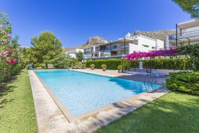 Exclusive modern apartment for sale in Puerto Pollensa, Mallorca