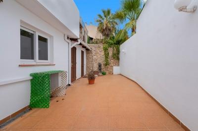 Quintessential three bedroom Mallorcan town house with great potential for sale in Pollensa, Mallorca