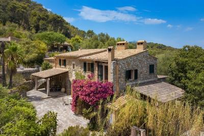 19th century finca with fantastic views for sale in Es Carritxo, Felanitx, Mallorca