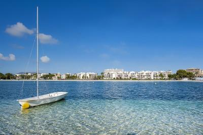 Beach of Port Alcudia