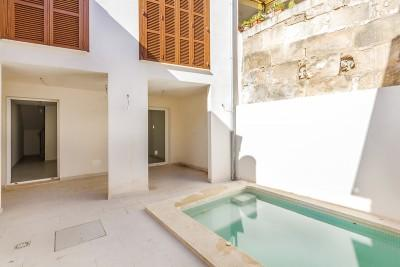 Newly renovated three bedroom town house for sale in Pollensa, Mallorca