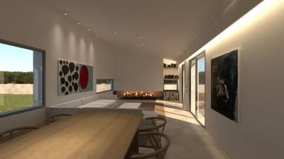 Living Area Render