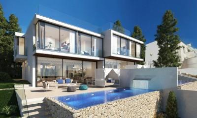 Render Facade & Pool Terrace