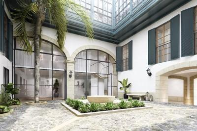 Impressive apartment with terrace for sale in Palma, Mallorca