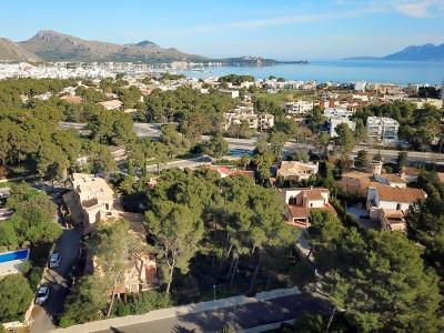 Residential plot for sale close to the beaches in Puerto Pollensa, Mallorca