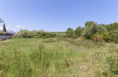 Building plot for sale in a prestigious area of Puerto Pollensa, Mallorca