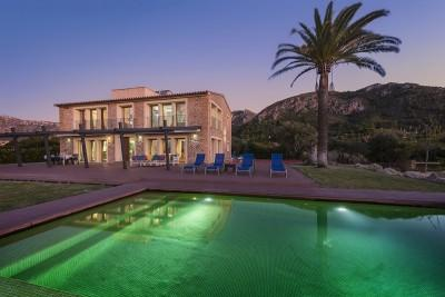 Stunning, sea view country villa for sale, Colonia San Pere, Mallorca
