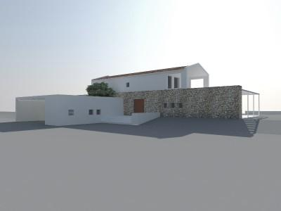 Large plot of land with building license for sale in Pollensa, Mallorca
